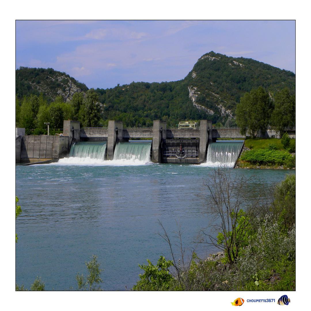 barrage de Champagneux savoie
