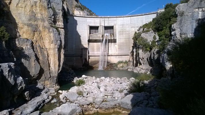 Barrage de Quinson