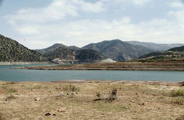 Barrage d'Ouirgane-Maroc