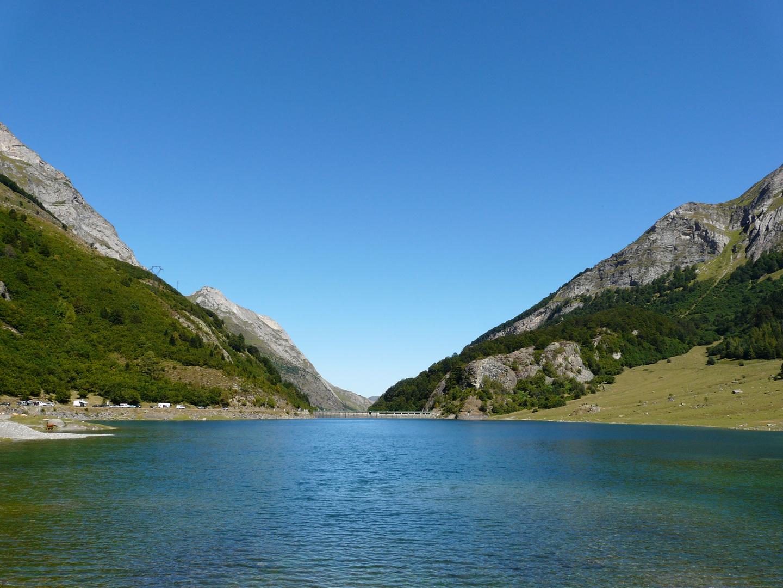 Barrage du Tech,dans les Hautes Pyrénées