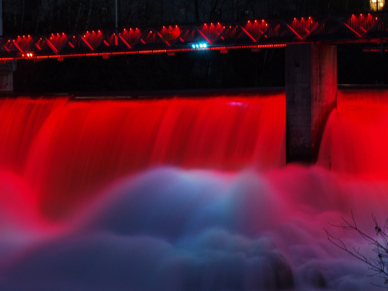 Barrage Frontenac, la nuit : 1
