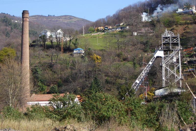 Barredo Colliery; Asturias - Northern Spain