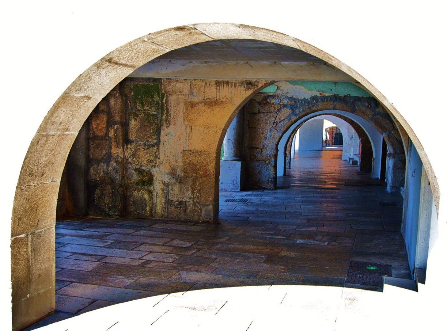barrio histórico ,casco viejo de vigo