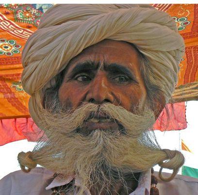 Bartwettbewerb Pushkar-Fest