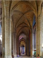 Bas-côté de la Cathédrale Saint-Etienne de Limoges