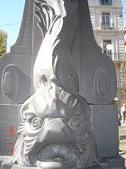 Bas de lampadaire à Marseille France
