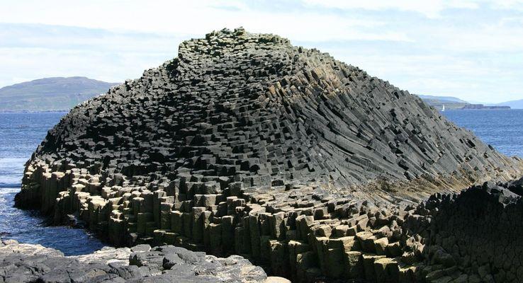 Basaltformation auf Staffa