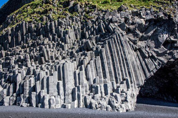 Basaltsäulen auf Island