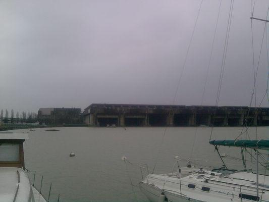 base sous marine de bordeaux
