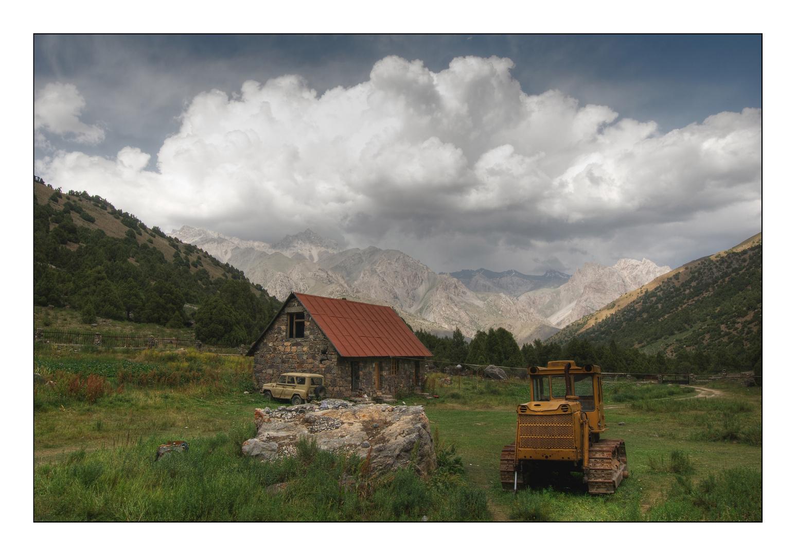 Basecamp Vertical - Fan-Gebirge - Tajikistan