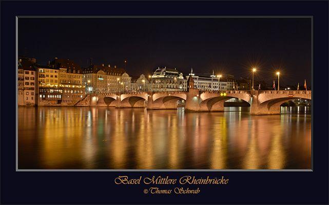 Basel Mittlere Rheinbrücke