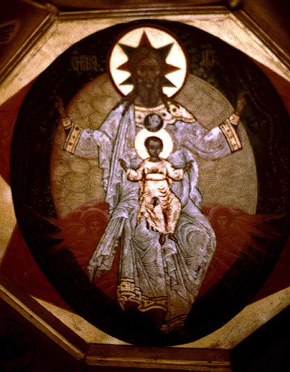 Basileus-Kathedrale Kuppelfresko