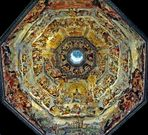 Basilica di Santa Maria del Fiore Dome and Giorgio Vasari's 'The Last Judgment'