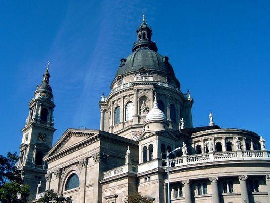 Basilica in Budapest