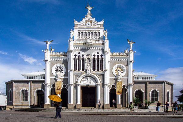 Basilica mit Sonnenschirm