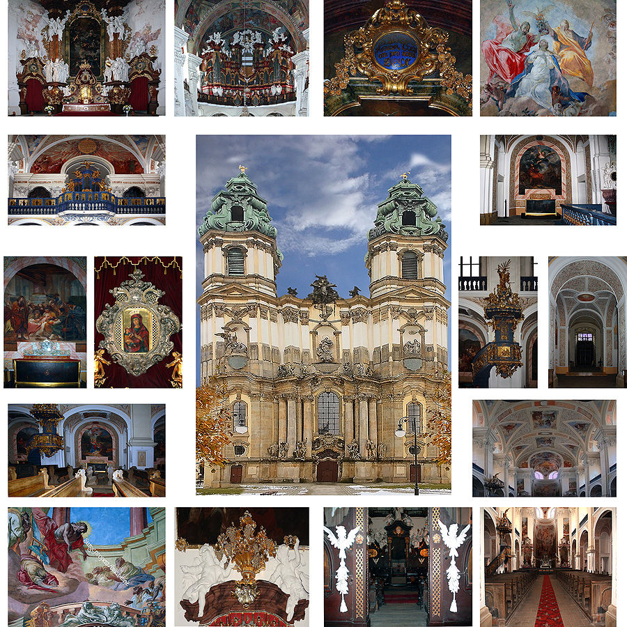 **Basilica of the Assumption of the Blessed Virgin Mary in Krzeszów**