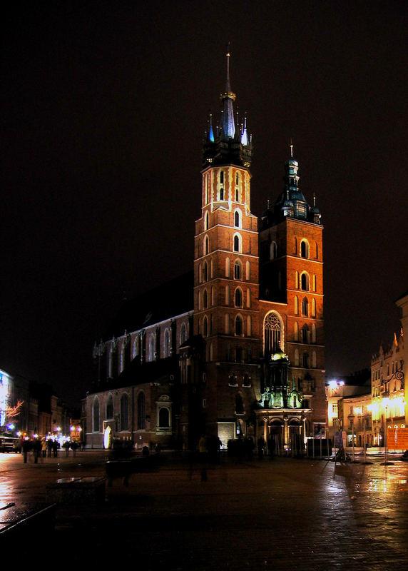 Basilica Santa Maria (Cracovia - Polonia)