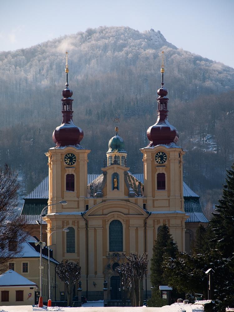 Basilika im Frost