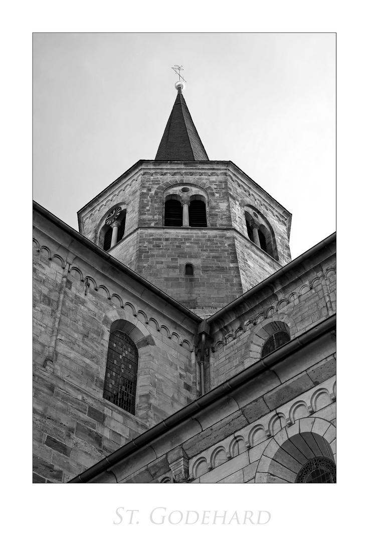 """Basilika-St. Godehard """" aus meiner Sicht...."""""""