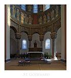 "Basilika-St. Godehard "" wunderschöne Details, im Chorraum der Basilika*...."""
