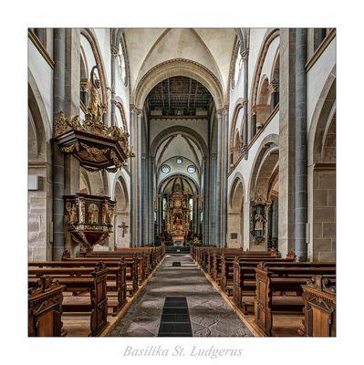 """Basilika St. Ludgerus - Essen """" Gott zu Gefallen..."""""""