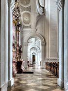Basilika Weingarten Seitenschiff