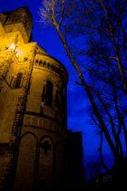 Basilika zur blauen Stunde