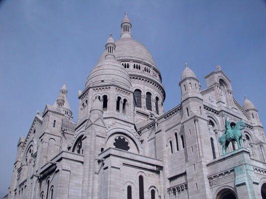 Basilique du Sacré Coeur Paris 2004
