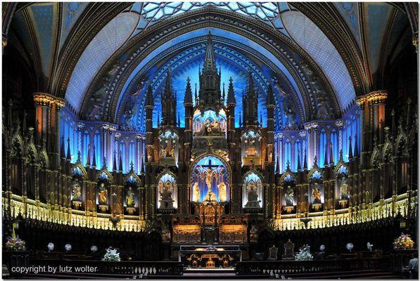 Basilique Notre Dame - Montreal