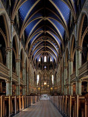 Basilique Notre Dame Ottawa