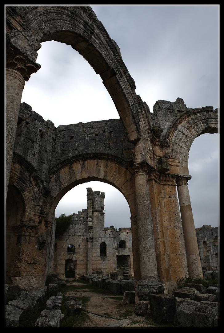 Basilique Saint-Siméon, Alep