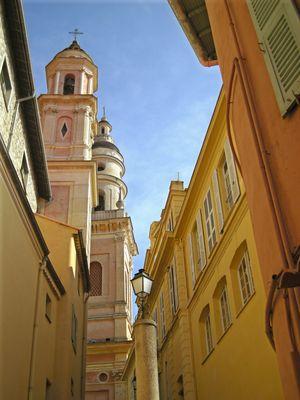 Basilique St Michel menton