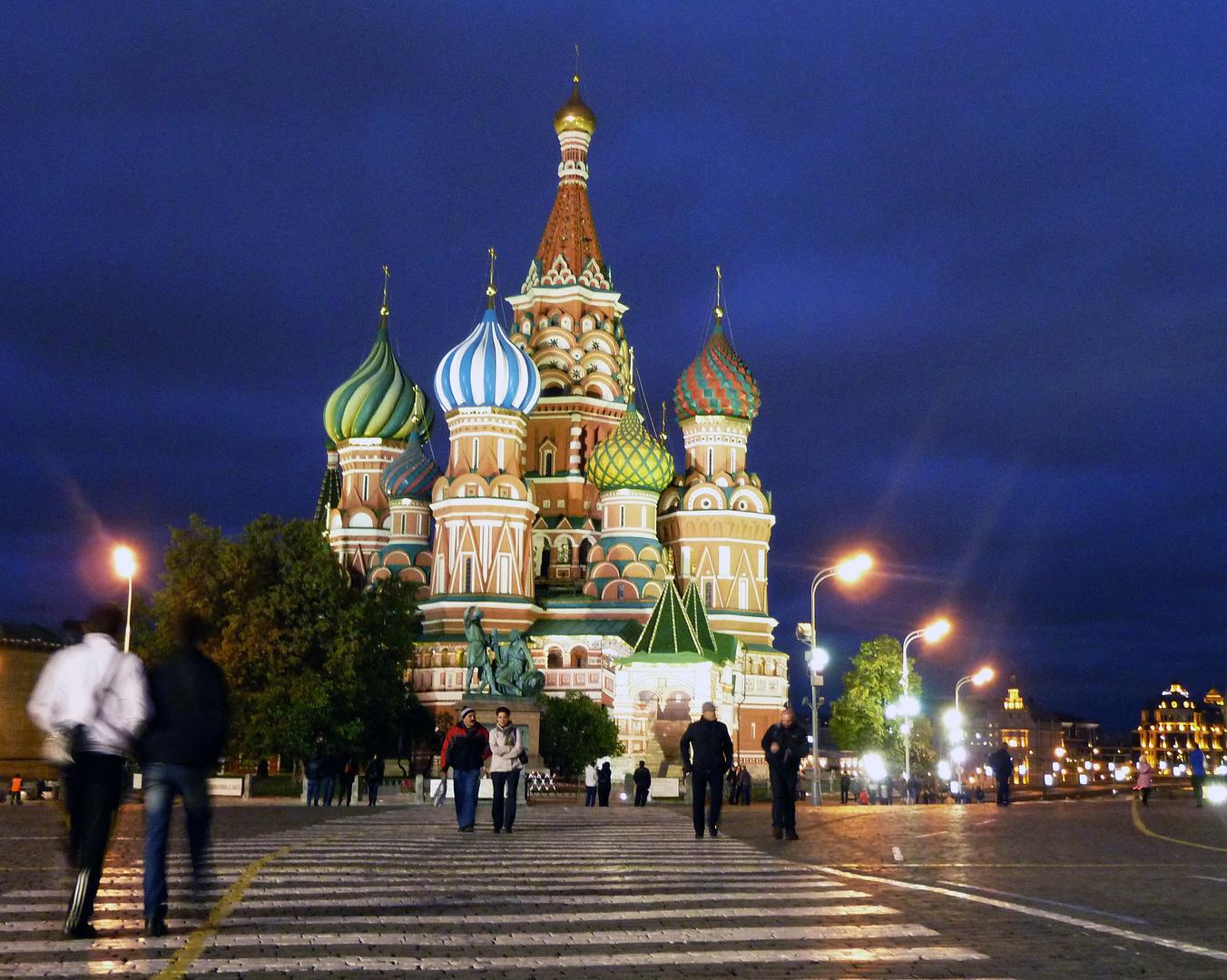 Basilius-Kathedrale - Saint Basil's Cathedral Moscow