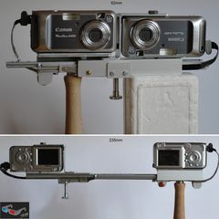 Basisvariable Stereokamera Canon Powershot A450 - praxisgerecht für 100 Euro