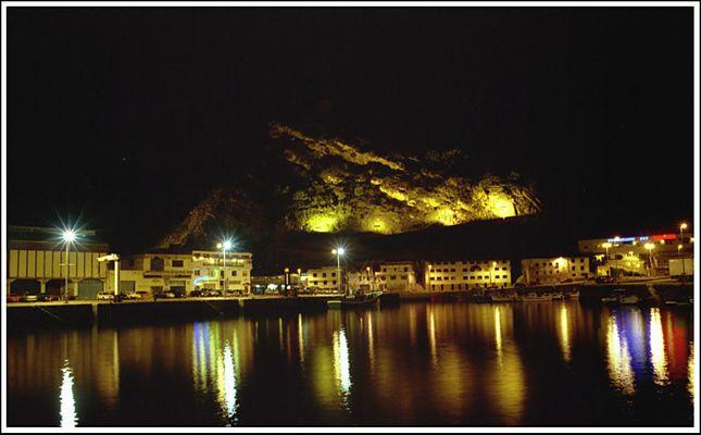 Baskenland - Hafen von Getaria bei Nacht III