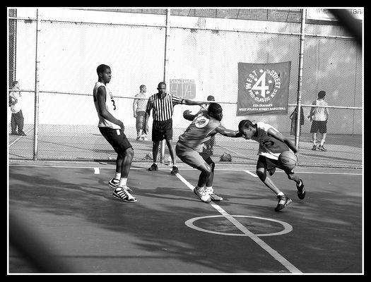 Basketball - fight