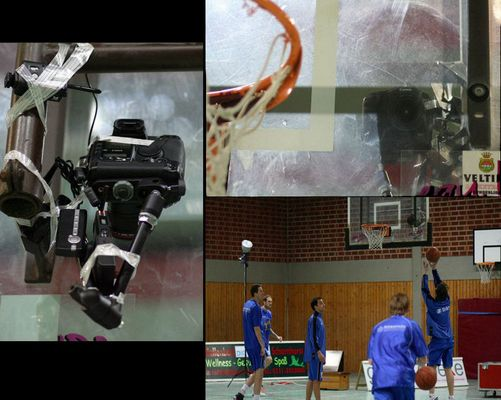 Basketball - Hinterkorb-Kamera