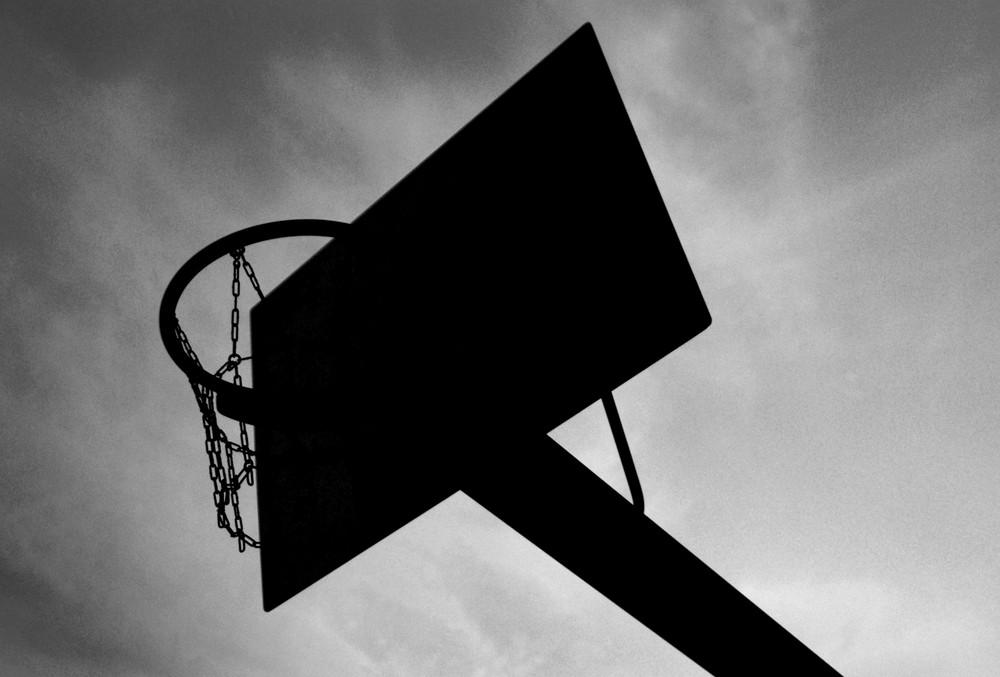 Basketballkorb..