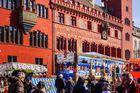 Basler Fasnacht auf dem Marktplatz