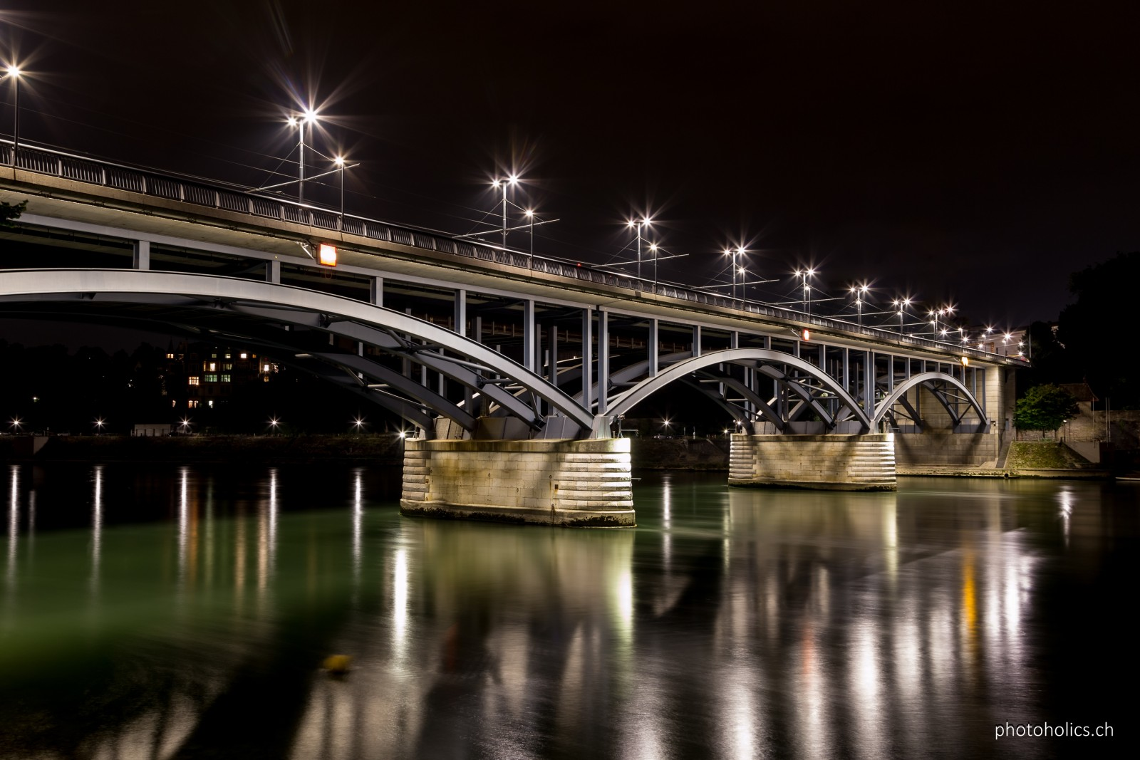 Basler Wettsteinbrücke