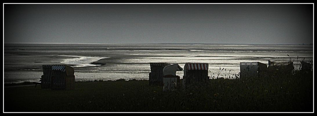 Bassa marea di sera