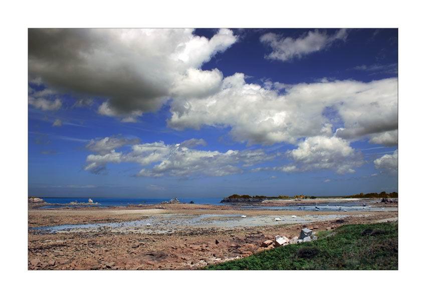 Bassa marea in Bretagna..