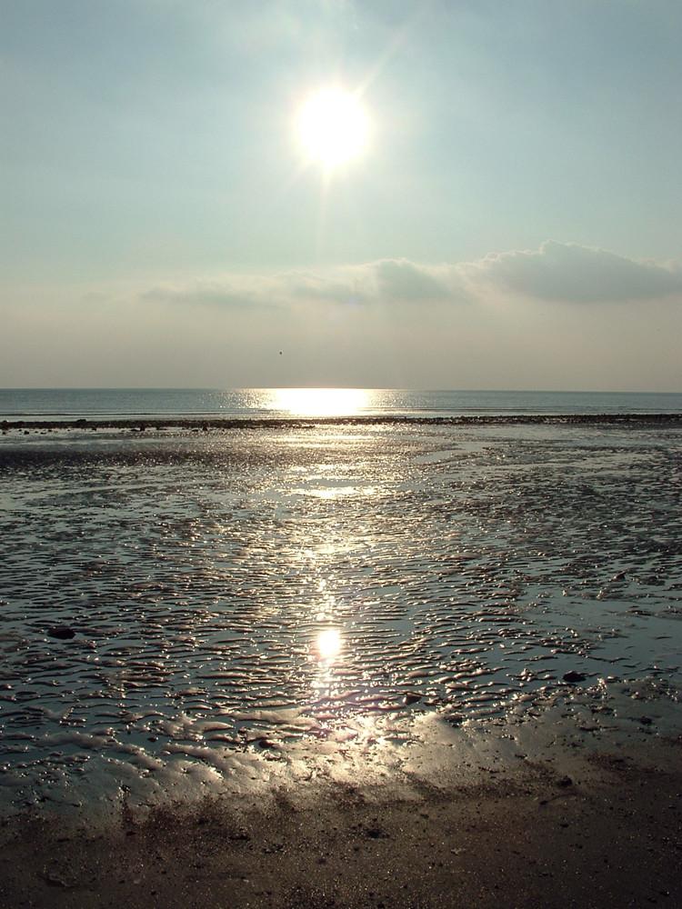 Bassa marea in Normandia