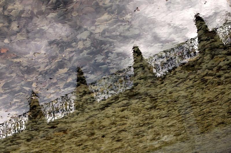 Bassin de reflets