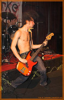 Bassist in Action
