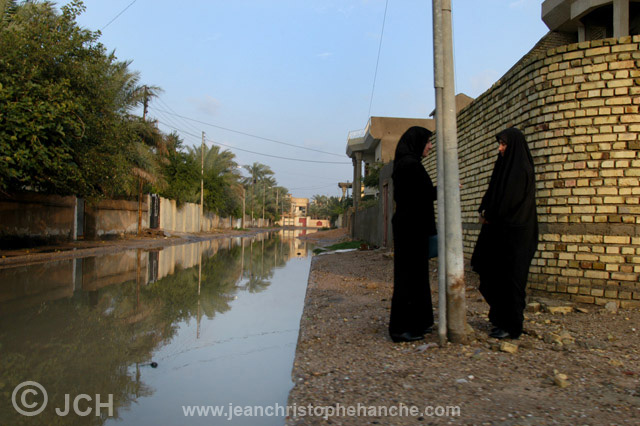 Bassorah, sud de l'Irak