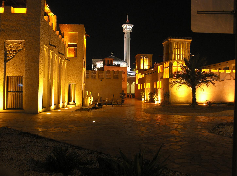 Bastakya and Grande Mosque