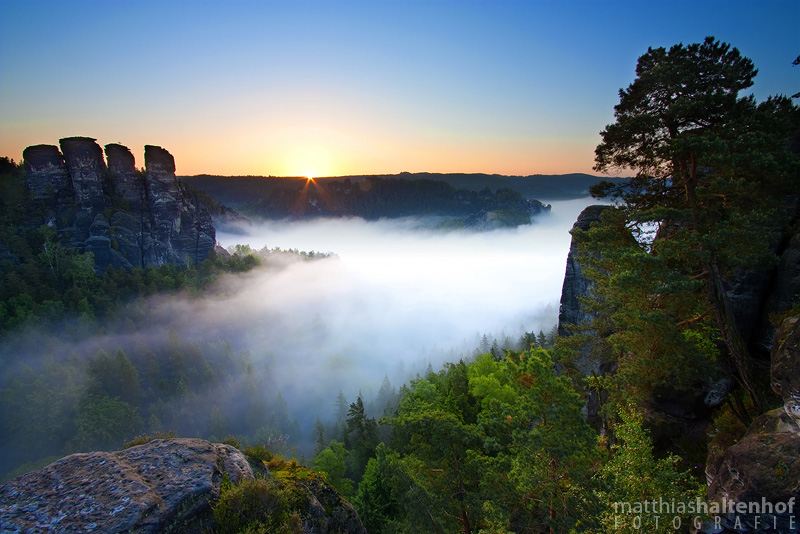 Bastei Sonnenaufgang