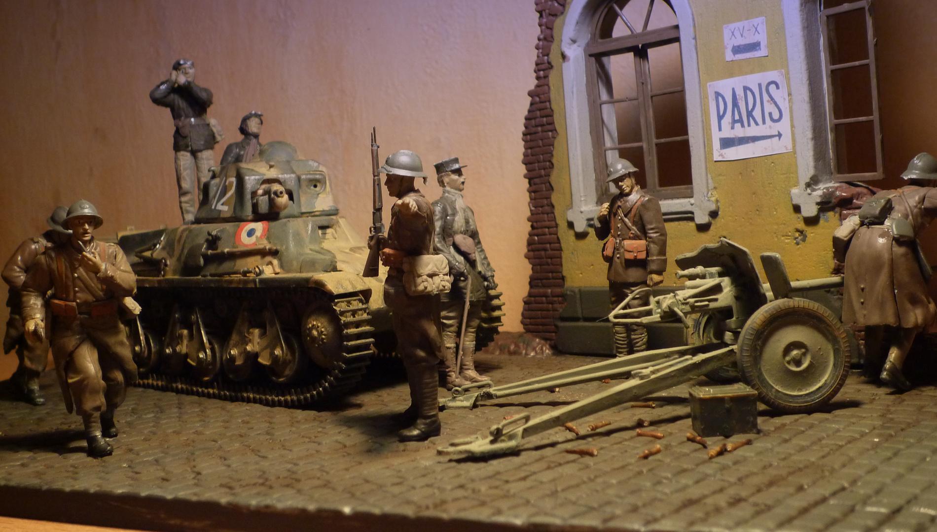 Bataille de Bulson 1940 -- Hotchkiss H38