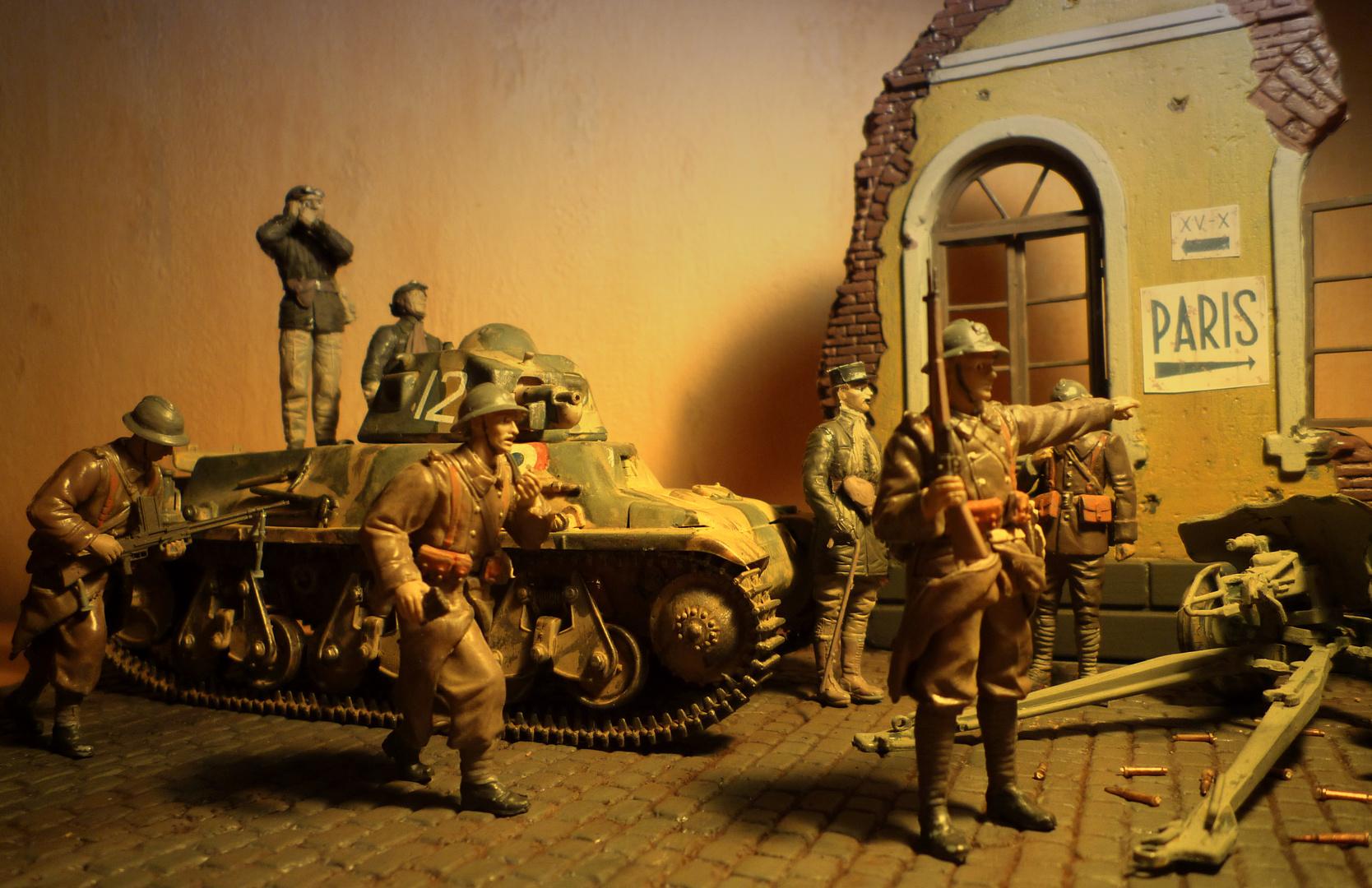 Bataille de Bulson 1940 - Hotchkiss H38